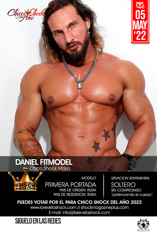 Dmitry Averyanov en Shock Magazine